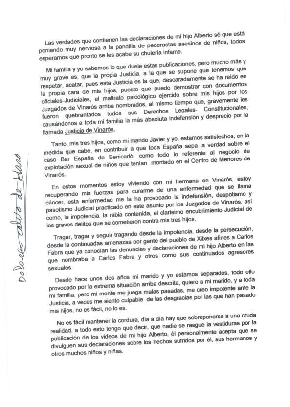 declaracion Dolores Calvo de Haro 2