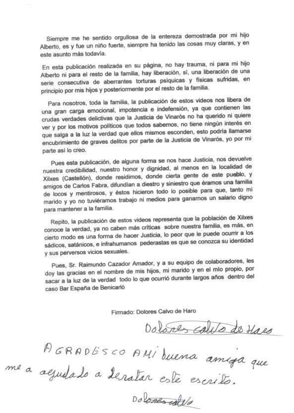 declaracion Dolores Calvo de Haro 3